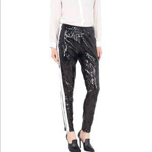 LANEUS sequined  pants